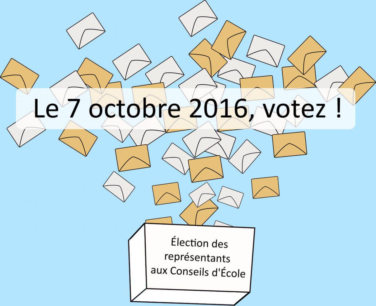 Votez ! C'est important !