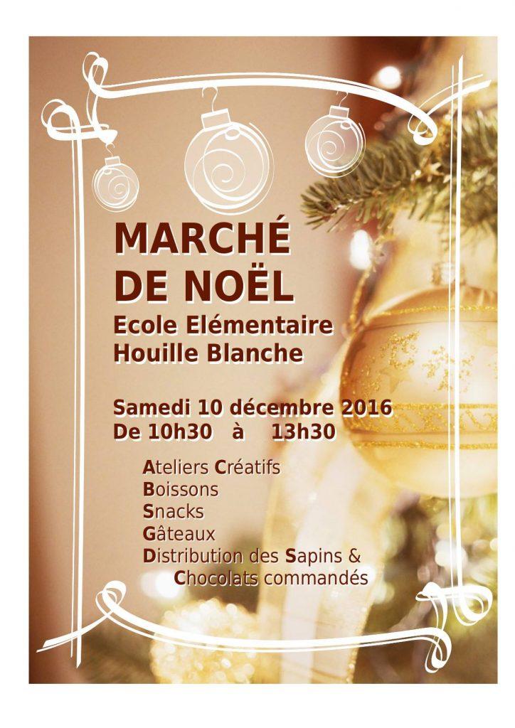 Maché de Noël - École La Houille Blanche